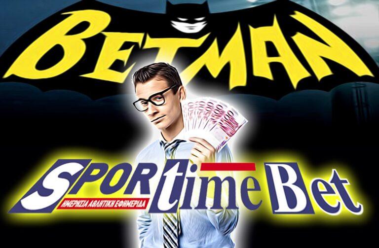 BetMan: Γκολ στο Εστορίλ