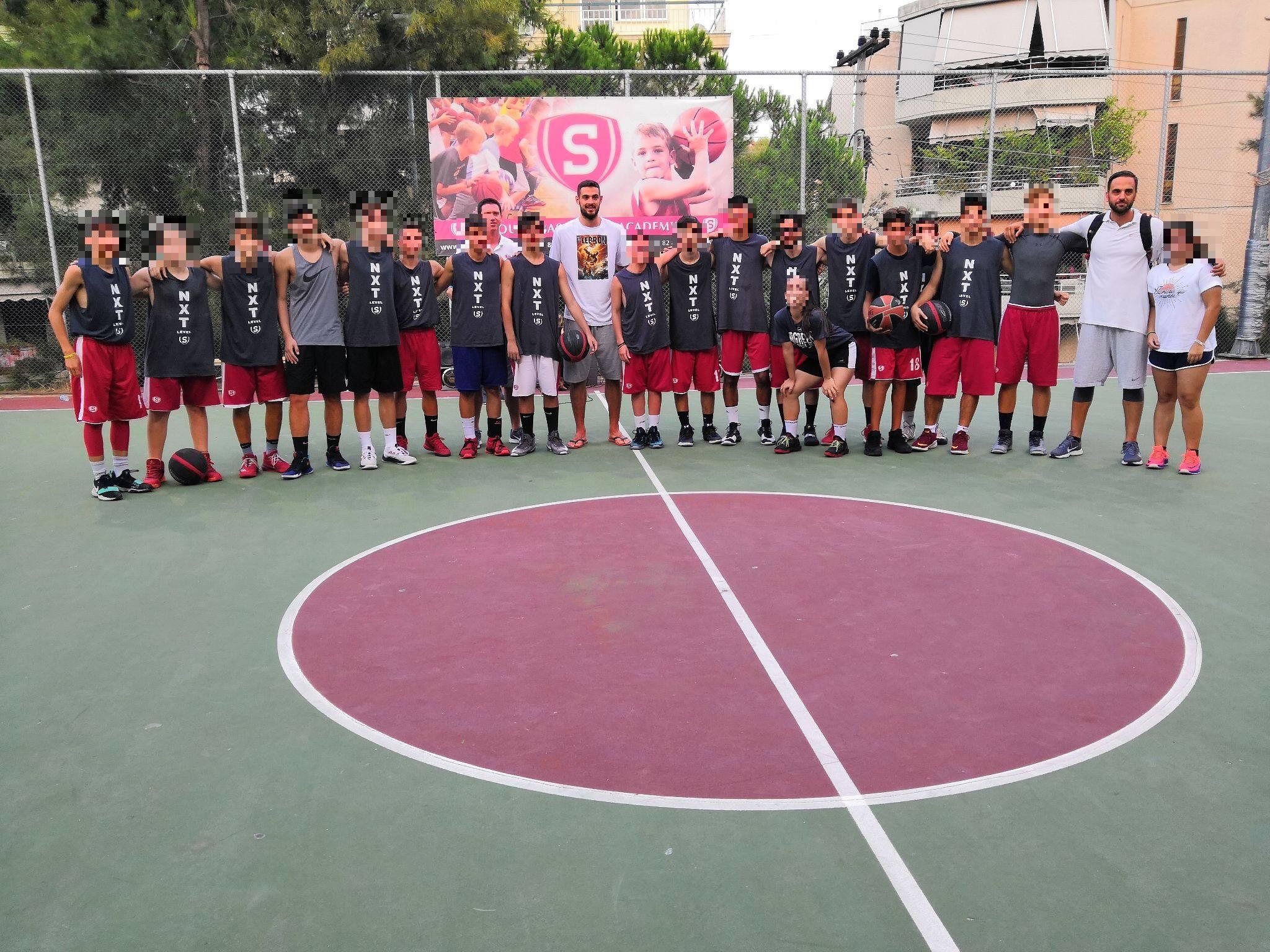 Με υψηλές παρουσίες ολοκληρώθηκε το camp  της South Basketball Academy