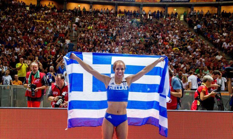 Ενθουσιασμένη η Στεφανίδη με τις ελληνικές επιτυχίες! Λυπήθηκε τους δημοσιογράφους