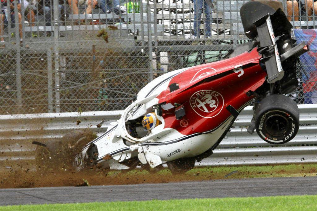 Σώος ο Έρικσον από τρομακτικό ατύχημα στην F1! (vid)