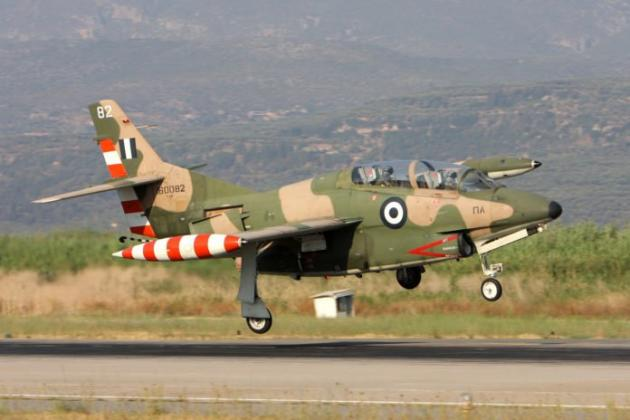 Συνετρίβη εκπαιδευτικό αεροπλάνο της Πολεμικής Αεροπορίας