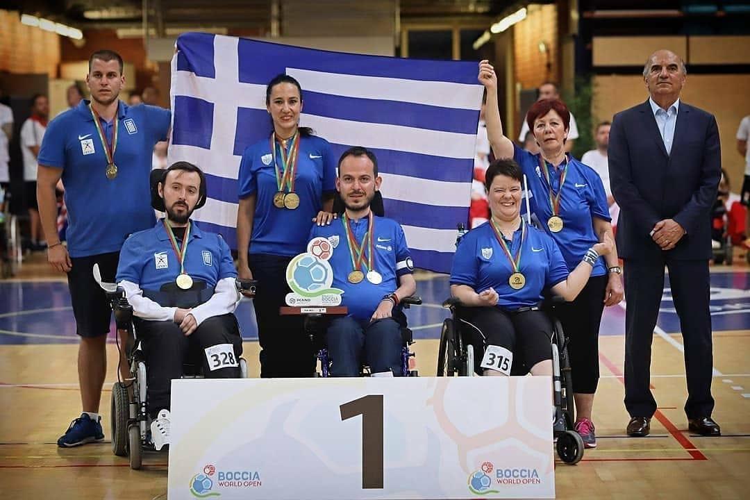 «Χρυσά» και τα ζευγάρια BC3 στο Παγκόσμιο Πρωτάθλημα μπότσια
