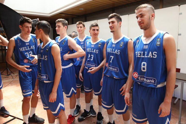 Αρχίζει η περιπέτεια της Εθνικής Παίδων στο Eurobasket U-16