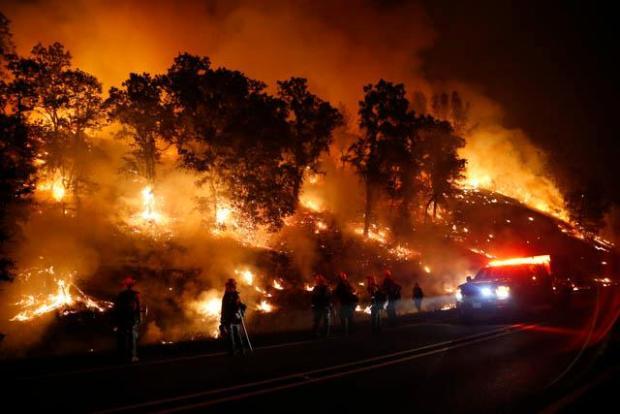 Καλιφόρνια: Έγιναν μία οι δύο καταστροφικές πυρκαγιές