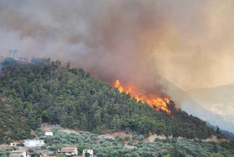 Υψηλός κίνδυνος πυρκαγιάς το Σάββατο σε Αττική και Εύβοια