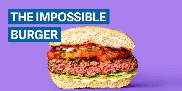 To Impossible burger… είναι το μπέργκερ του μέλλοντος (vid)