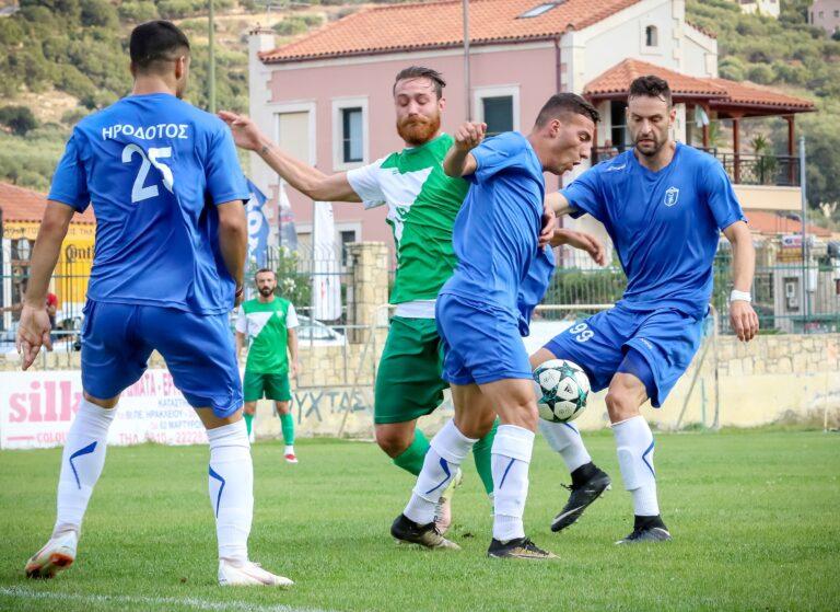 Ισοπαλία με γκολ (2-2) για Ηρόδοτο