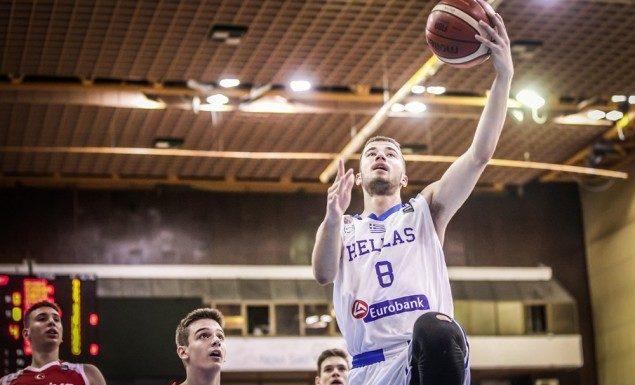 Χάνει το υπόλοιπο του Ευρωπαϊκού Πρωταθλήματος U16 ο Κωστόπουλος