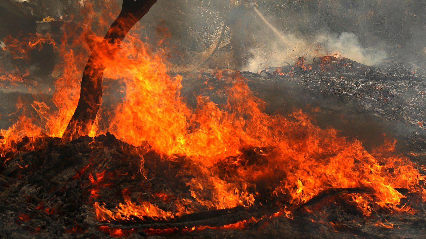 Χάρτης πρόβλεψης πυρκαγιάς για την Τετάρτη 05/09