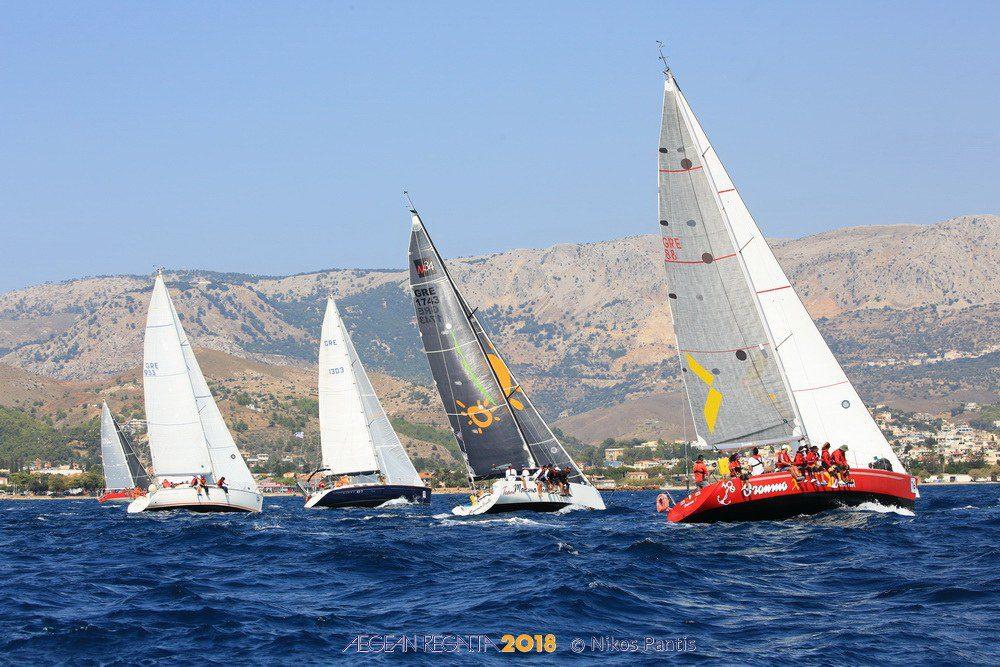 H Aegean Regatta έφτασε στη Σάμο (vid)