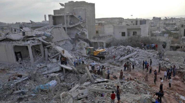 Αιματηρές αεροπορικές επιδρομές στη Συρία