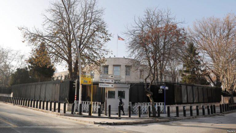 Άγκυρα: Δύο συλλήψεις για τους πυροβολισμούς κατά της πρεσβείας των ΗΠΑ