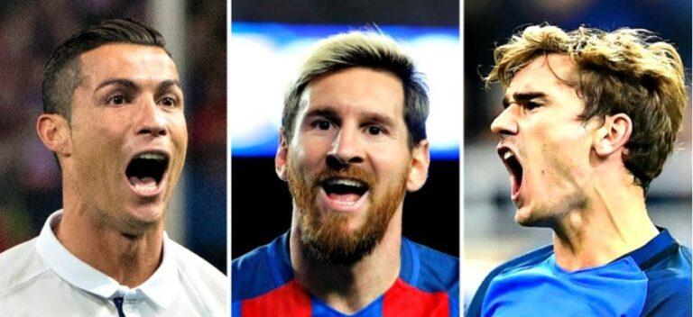 Οι 10 καλύτεροι σκόρερ στην Ευρώπη για το 2018