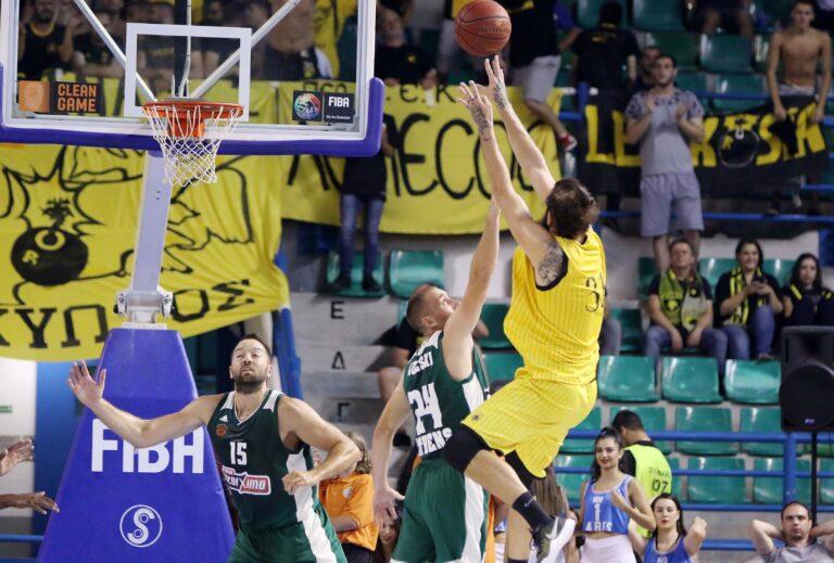 Παναθηναϊκός-ΑΕΚ 81-82: Ο Ματσιούλις εκτέλεσε τον πρώην!