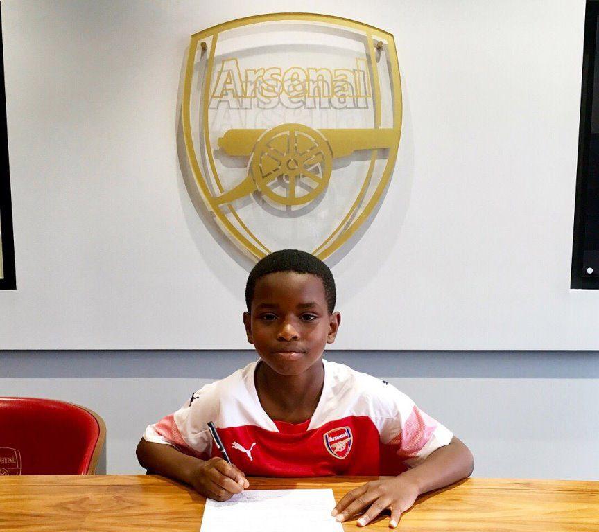 Υπέγραψε στην Άρσεναλ ο 9χρονος Αντετίμπα!