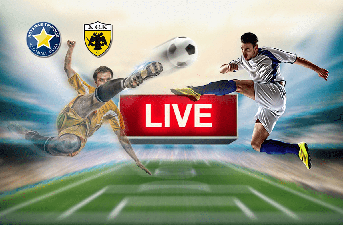 ab916fbc92e Aστέρας Τρίπολης – ΑΕΚ LIVE | sportime.gr
