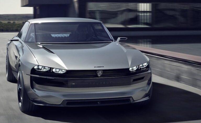 Το Peugeot e-Legend Concept είναι ρετρό, είναι φουτουριστικό, είναι αυτόνομο (και ηλεκτρικό)