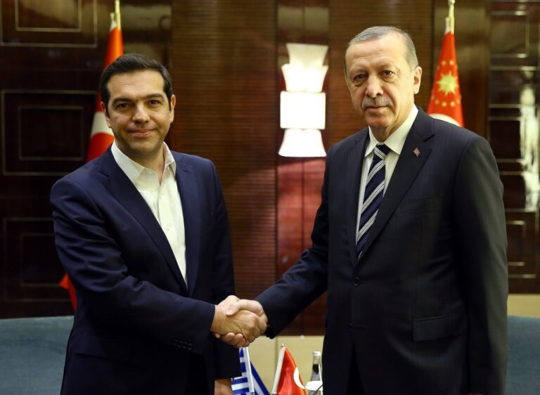Σε καλό κλίμα η συνάντηση Τσίπρα-Ερντογάν