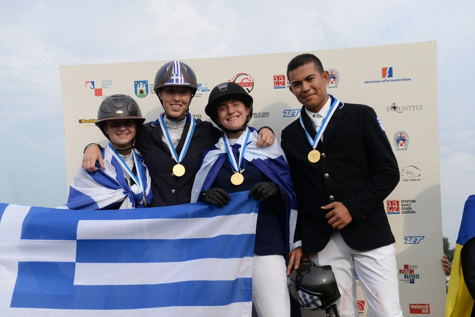 Ιππασία: Με 12 μετάλλια η Ελλάδα στο Βαλκανικό Πρωτάθλημα Υπερπήδησης Εμποδίων