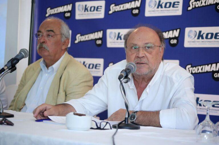 Δημήτρης Διαθεσόπουλος: «Κανείς δεν είναι μόνιμος στης εθνικές ομάδες!»
