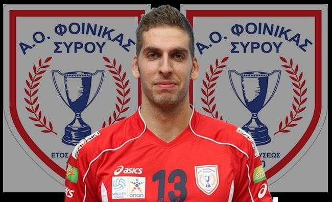Ο Τόμισλαβ Ντόκιτς στονΦοίνικα Σύρου