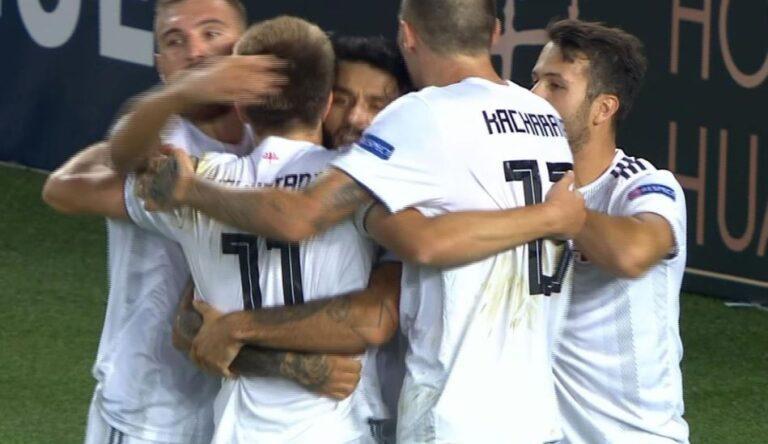 Nations League: Αγκάλιασε την πρωτιά η Γεωργία (vid)