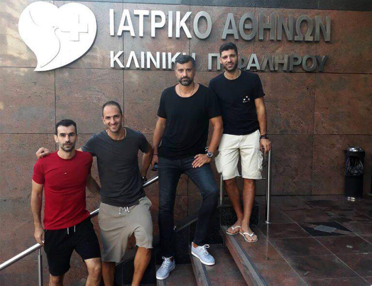 Ολυμπιακός: Ολοκληρώθηκαν οι ιατρικές εξετάσεις της ομάδας βόλεϊ ανδρών