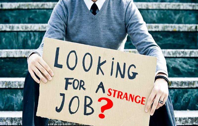 Οι πιο παράξενες δουλειές στον κόσμο