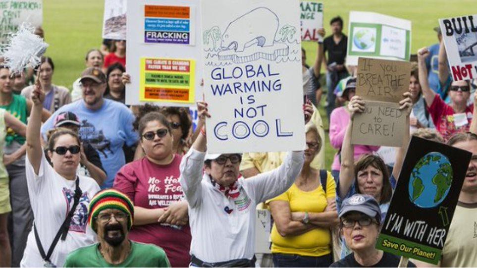 Πορείες για το κλίμα σε 100 χώρες