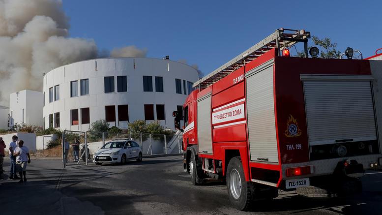 Φωτιά στο πανεπιστήμιο της Κρήτης- Τι ανακοίνωσε η πυροσβεστική