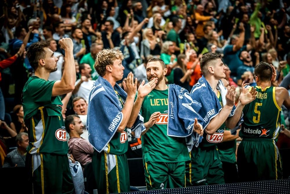 Και η Λιθουανία στο Παγκόσμιο Κύπελλο του 2019
