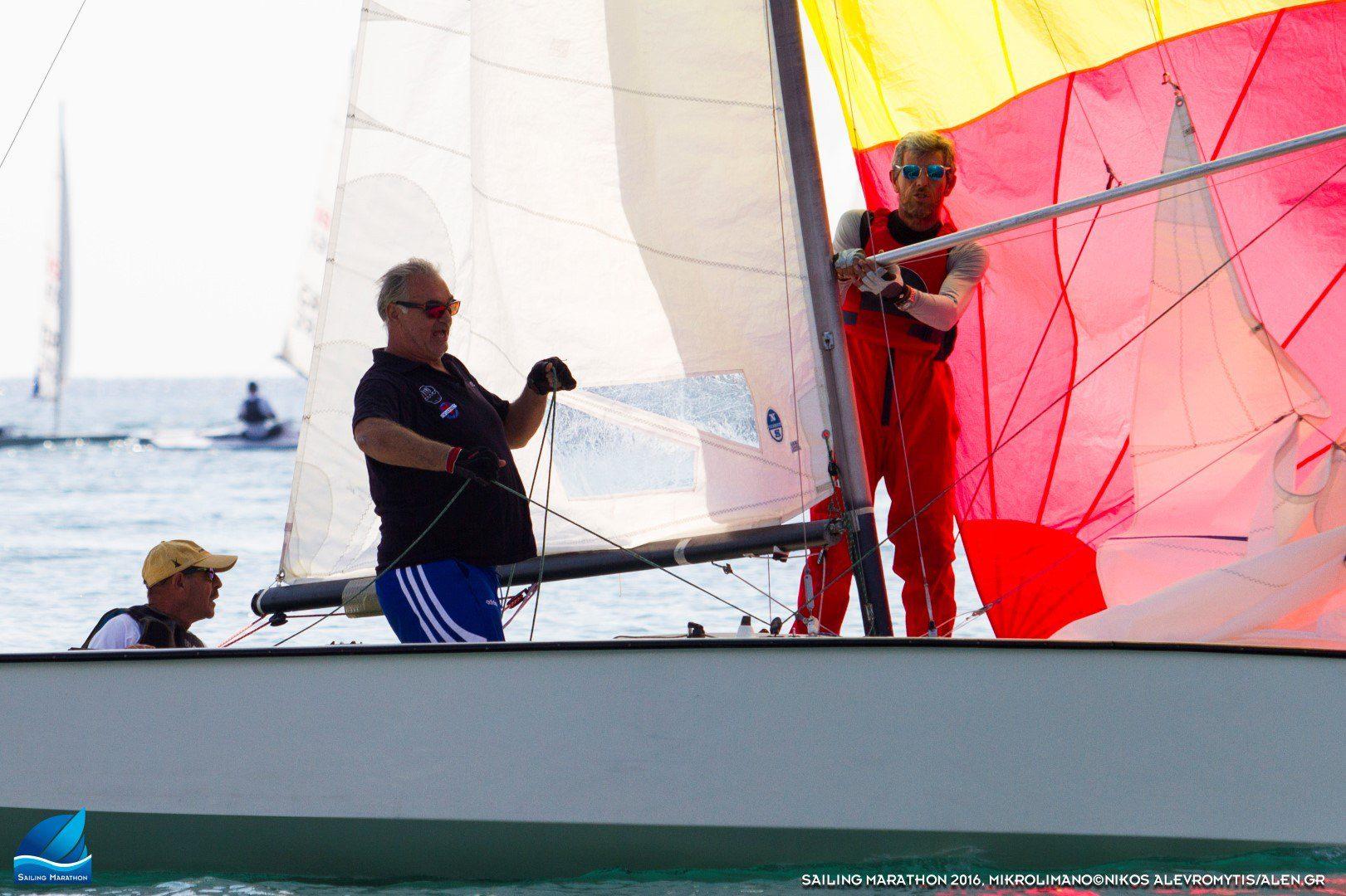 Ο Τάσος Μπουντούρης ξανά στις θάλασσες στο Sailing Marathon