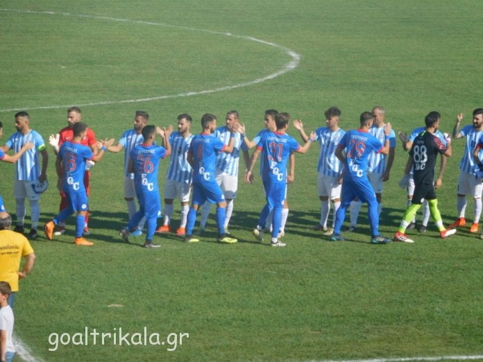 Τα Τρίκαλα νίκησαν άνετα με 4-0 τη Σπάρτη