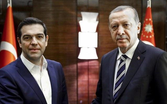 Την Τρίτη το απόγευμα η συνάντηση Τσίπρα-Ερντογάν