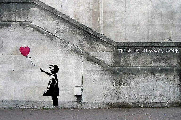 Ο Banksy τεμάχισε γνήσιο αντίγραφο του Balloon Girl μόλις δημοπρατήθηκε για 1 εκ.