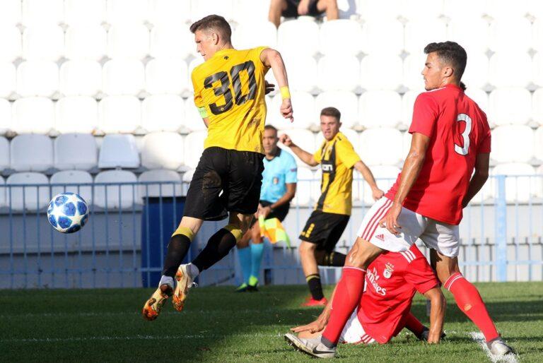 Νέα ήττα της Κ19 της ΑΕΚ με 3-1 από την Μπενφίκα