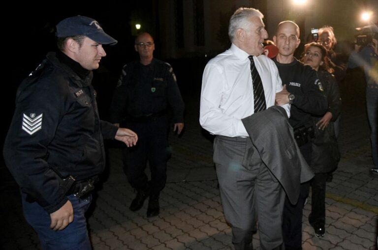 Η πρώτη νύχτα του Γιάννου Παπαντωνίου στη φυλακή