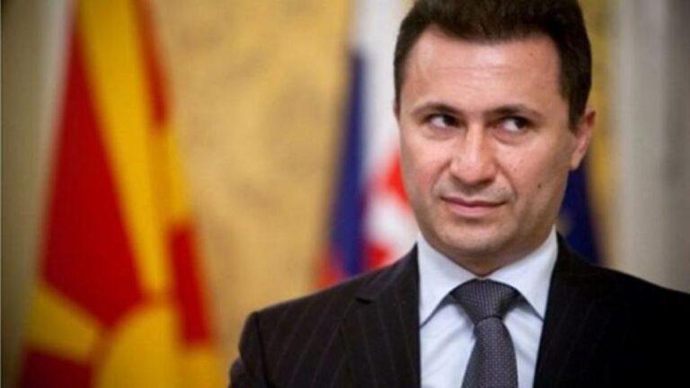 Το εφετείο των Σκοπίων επιβεβαίωσε την διετή ποινή φυλάκισης του Γκρουέφσκι