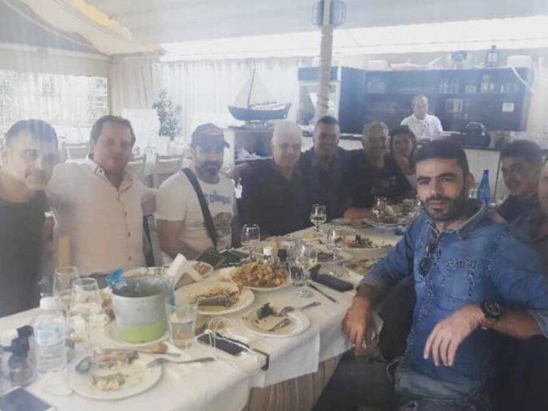 Γεύμα γνωριμίας στο Ηρόδοτο