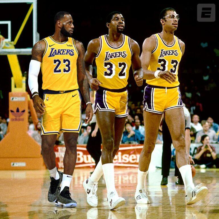 Το παρελθόν του NBA συναντά το παρόν (pics)