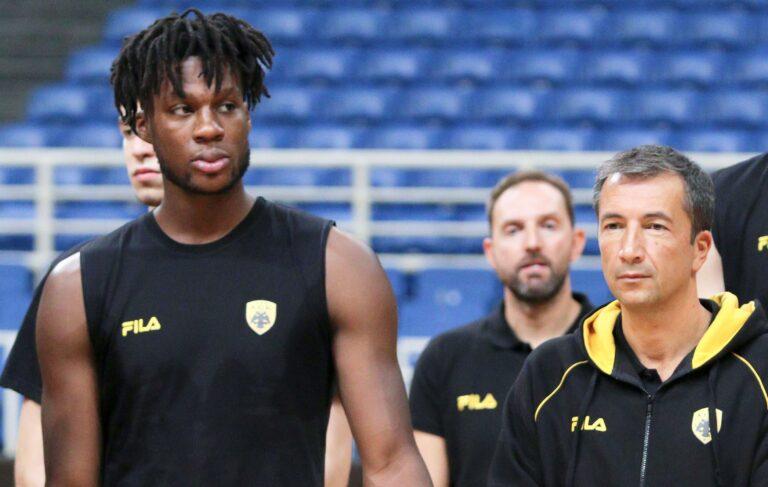 Ρόμπερσον στο Sportime.gr: «Η ΑΕΚ είναι μεγάλο σκαλοπάτι»