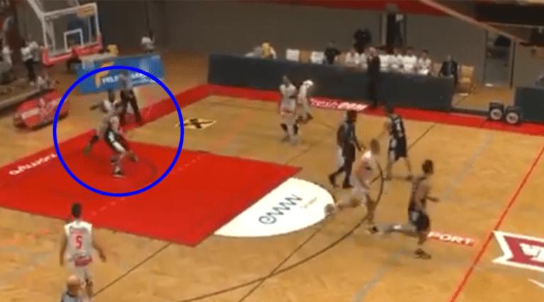 Δεξί κροσέ και σέκος σε αγώνα μπάσκετ στην Αυστρία! (vid)