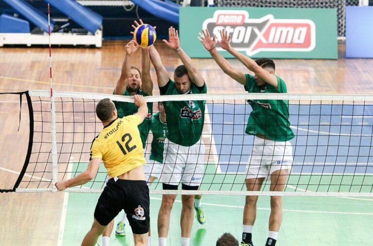 Volley League: Η ΑΕΚ επιστρέφει στα «σαλόνια» με ντέρμπι