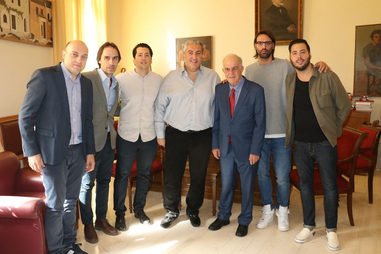 ΟΦΗ: Συνάντηση Μπούση με τον Δήμαρχο Ηρακλείου