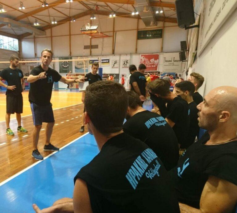 Volley League: Κίνδυνος αποχώρησης από τον Ηρακλή Χαλκίδας
