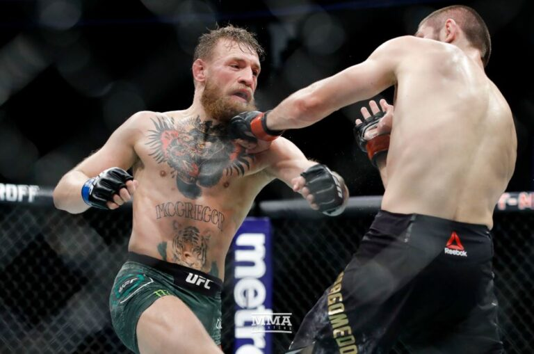 UFC: Έχασε ο ΜακΓκρέγκορ – Χάος στο τέλος από τον Νουρμαγκομέντοφ