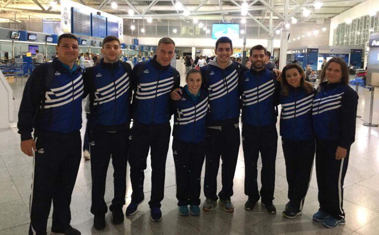 Καλές εμφανίσεις από τις Εθνικές ομάδες τραμπολίνο στην Πορτογαλία