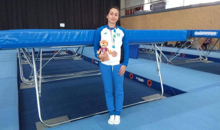 «Χάλκινη» η Αντωνία Σακελλαρίδου στους Ολυμπιακούς Αγώνες Νέων