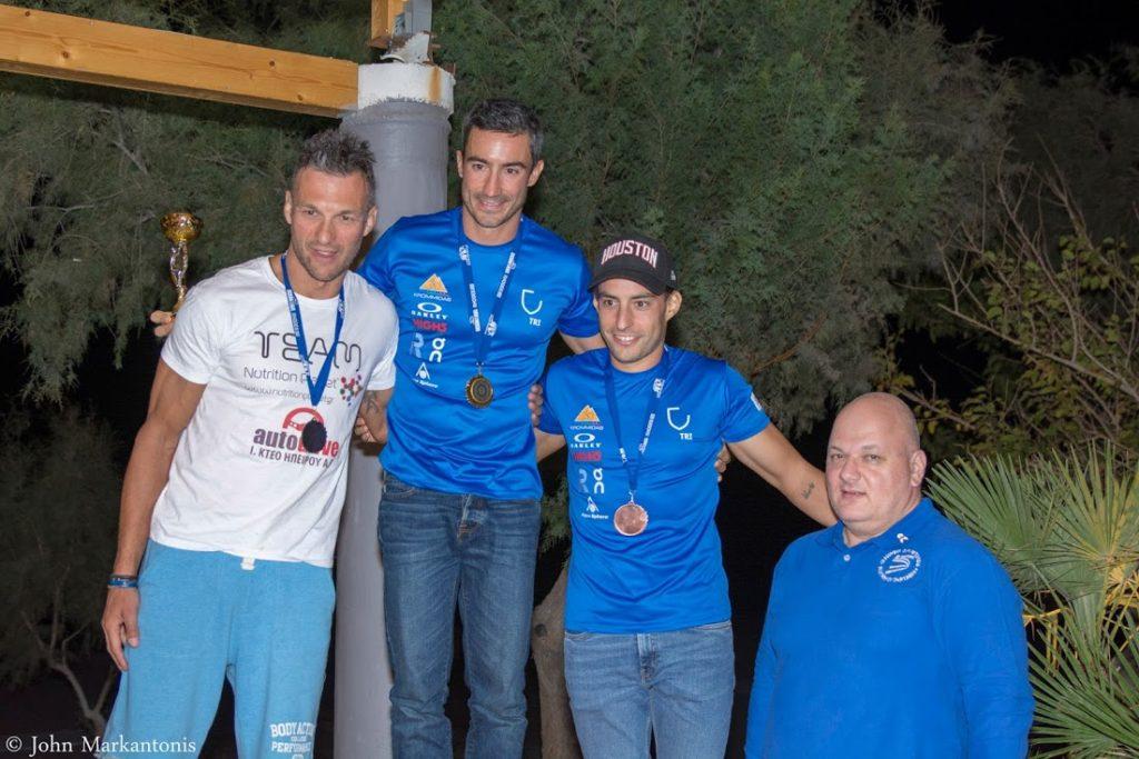 Οι πρωταθλητές Ελλάδας στο τρίαθλο υπεραποστάσεων