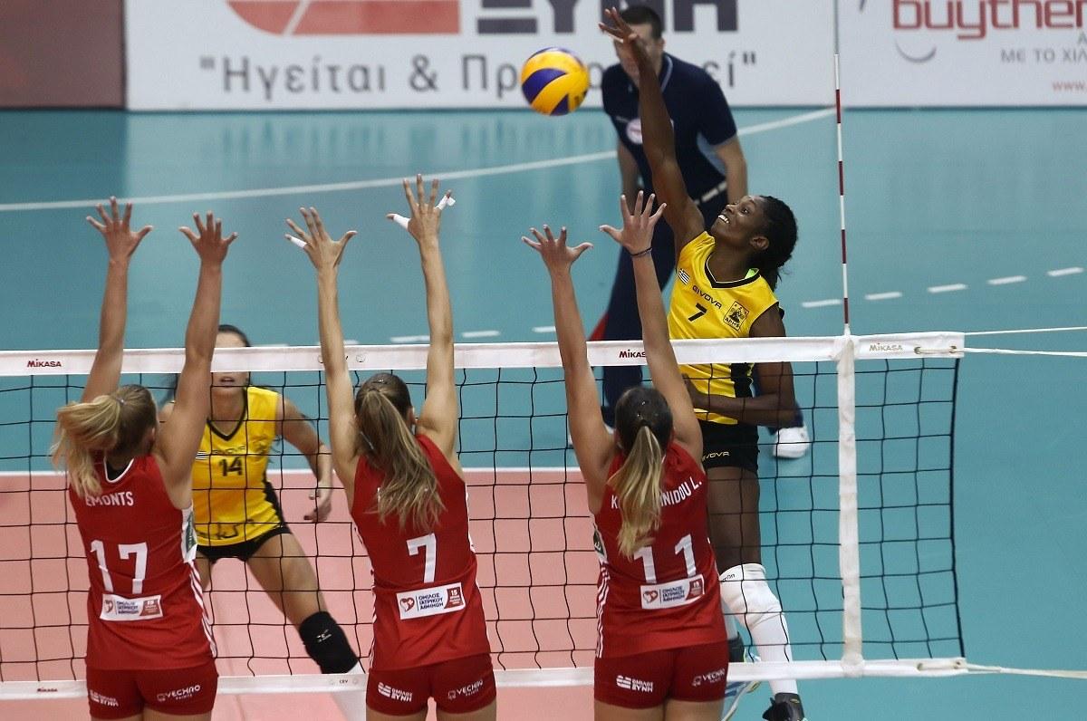 Α1 Γυναικών βόλεϊ: MVP η Μοντάνο - Sportime.GR